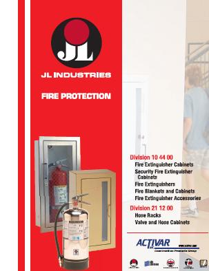 Jlindustriescover. Download JL Industries Fire Protection Catalog